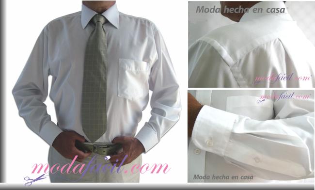 8f05b0f948ba5 Cómo Cortar y Coser una Camisa fina para Caballero Modafacil DIY
