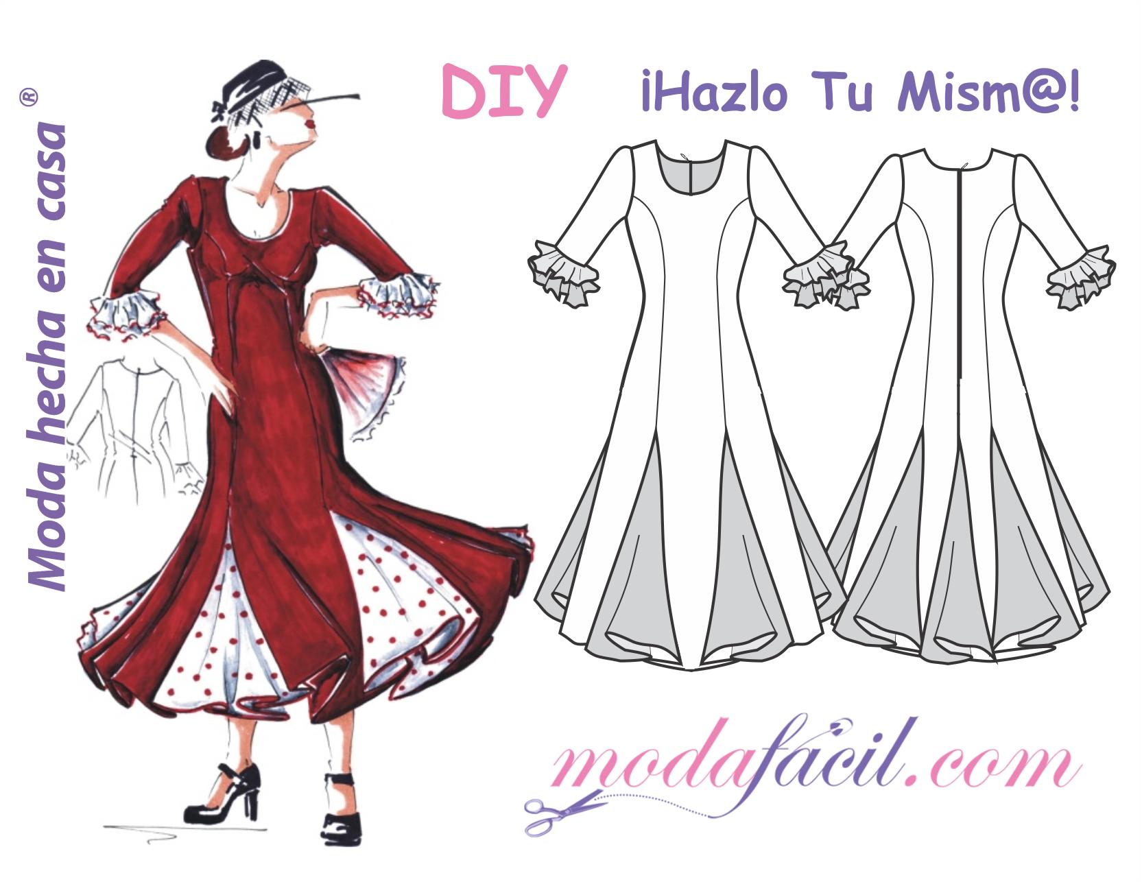 Modelos de vestidos de fiesta con patrones
