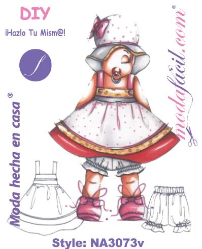Descarga gratis los patrones del precioso vestido para bebes 64f692063742