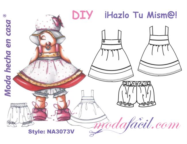 f04cca68a Descarga gratis los patrones del precioso vestido para bebes
