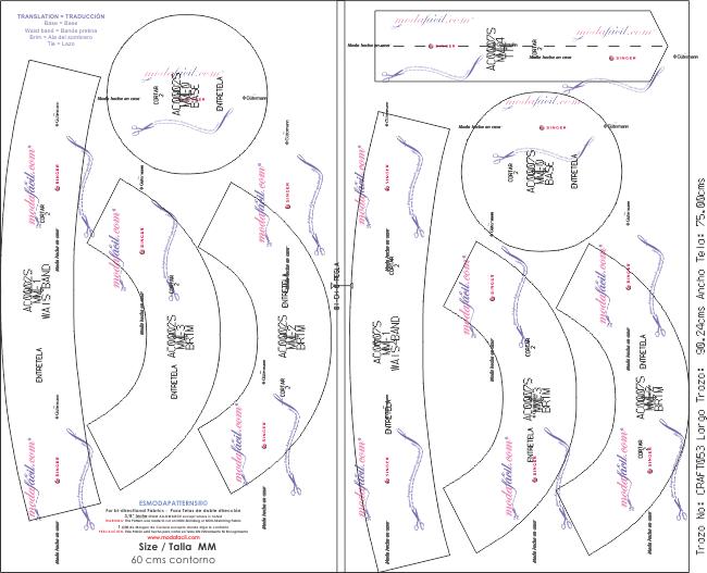 Descarga gratis los patrones de Sombrero Casual Reversible para adultos b804bd8ebff