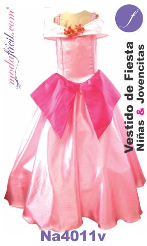 b410e1f5f2 Descarga gratis los Moldes de vestido de fiesta de niñas y jovencitas s