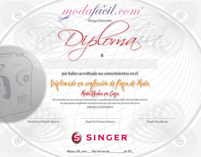 6df62e7e2c Consigue un Diploma para compartir tu éxito con el mundo Cursos de corte y  confección de Ropa - Aprende a coser todo tipo de ropa
