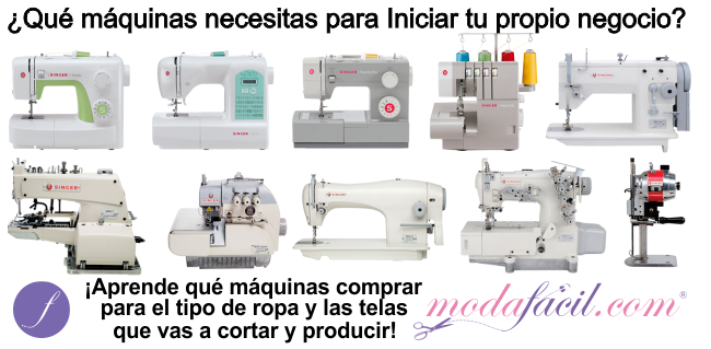 63da91e5c17 Aprende qué máquinas de Coser debes comprar para iniciar tu propio negocio
