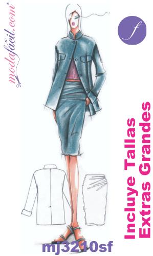 8f6ed1a8fe0 Bellos Diseños y Patrones de Sacos y Faldas para Ejecutivas Modafacil