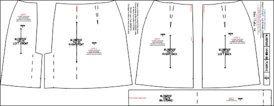 497f985f8d7 Descarga los Moldes de Conjunto Casual de Saco y Falda MJ3076sf