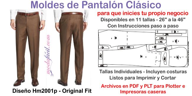 Aprende A Cortar Y Coser Un Pantalon Fino Para Hombres Modafacil